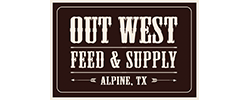 Out West Feed & Supply Logo